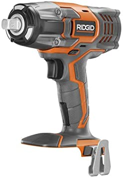 Ridgid R86011B 18-Volt GEN5X Cordless Brushless 1//2 in.Impact Wrench w//Belt Clip