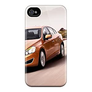 Flexible Tpu Back Case Cover For Iphone 4/4s - 2011 Volvo S60