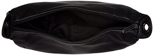 Mandarina Duck Mellow Leather Tracolla, Borsa a tracolla Donna Nero