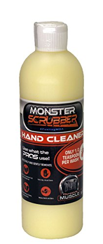 Throttle Muscle TM2797 - Monster Scrubber Industrial Hand Cleaner Micro Polymer Beads with Moisturizer 16 Oz