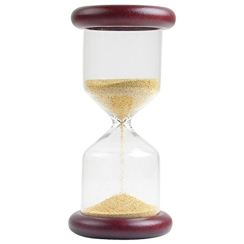 Minute Sand Game Timer (Sunmid Wooden Sand Hourglass 2 Minutes Romantic Gift Wooden Hourglass Gold Ornaments Sandglass Handicrafts Sand Clock With Countdown Timing For Valentines,Business,Graduation,Neighbor gifts)
