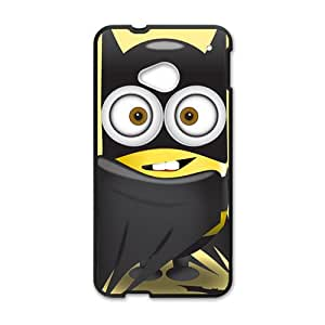 Lovely black cloth Minions Cell Phone Case for HTC One M7