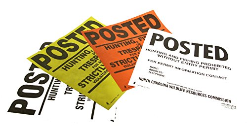 Posted Signs on a roll with your CUSTOM information by Minuteman x250 by Minuteman Signs (Image #4)