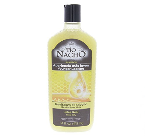 Amazon.com : Tio Nacho Royal Jelly Revitalizing Shampoo 415ml - Jalea Real Revitalizando Champu (Pack of 12) : Beauty