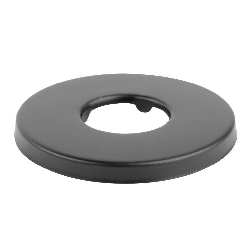 negro Brazo de ducha Acero inoxidable universal en forma de S con sistema de ducha de ba/ño de arco alto de brida 6 pulgadas