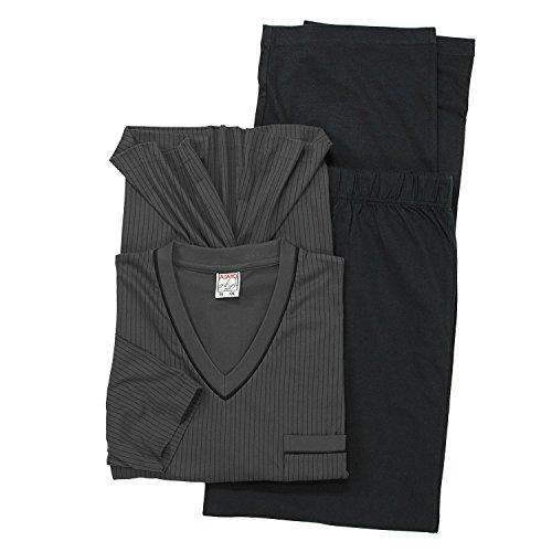 tama grandes por establecido Adamo pijama hasta os 10xl gris PHZwX