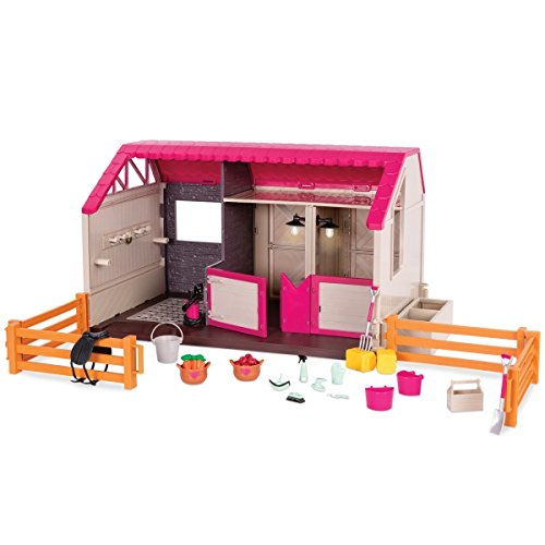 Used, Lori Doll Horse Haven Barn Set for sale  Delivered anywhere in USA