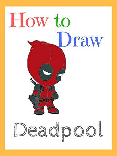 How to draw Deadpool - Kid Drawn Calendar
