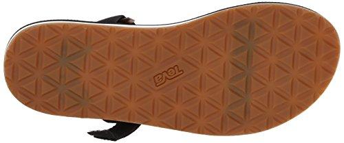 Women's and Universal Lifestyle Sports Black Slide Sandal Teva Original Black Outdoor dXxwOWP