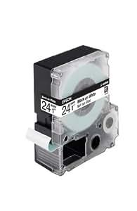 Epson LC6WBN9 - Cinta estándar para etiquetadora, negro / blanco