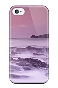 New Fashionable AnnaSanders BkRwLbn4793wJPJQ Cover Case Specially Made For Iphone 4/4s(godrevy Lighthouse St Ives Bay Cornwall England Nature Other)