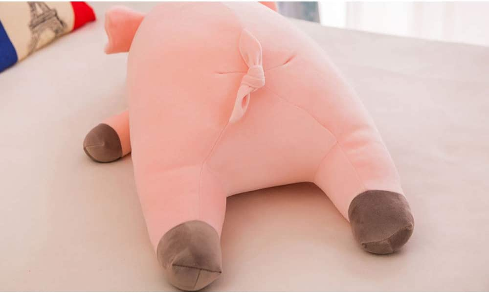 Bettli 23.5 Very Soft Pig Big Hugging Pillow Plush Piggy Stuffed Animals Pink Pig