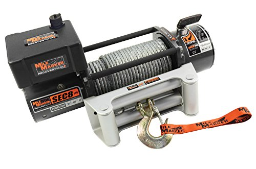 (Mile Marker 77-50141W SEC8(ES) Truck/Jeep/SUV Element Sealed Electric Winch - 8,000 lb. Capacity, 1 Pack)