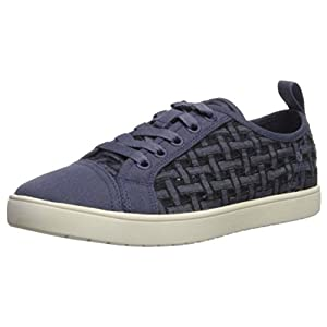 Koolaburra by UGG Women's W Kellen Low Lace Sneaker, Denim, 08.5 Medium US