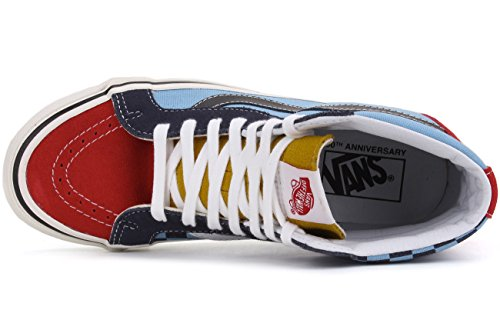 Hi 38 Reissue Blue High Skateboarding Ankle 50Th Shoe Canvas Sk8 Stv Vans Multi AqOE5t