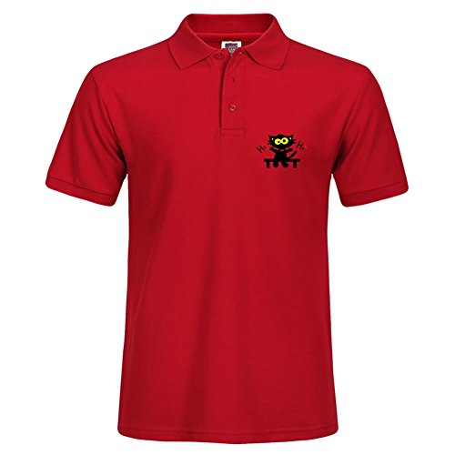 new-medium-men-stylish-short-sleeve-casual-polo-shirt-corneljackso-t-shirts-red-tee-tops