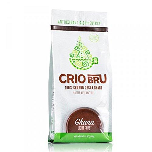 Crio Bru 100 Ground Cocoa Beans - Ghana Light Roast