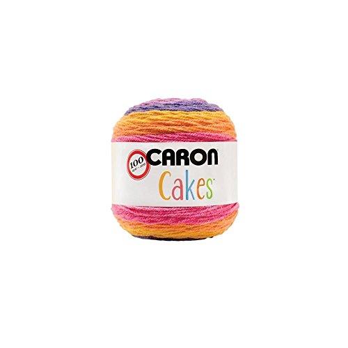 (Caron Cakes Self Striping Yarn 383 yd 200 g (Funfetti))