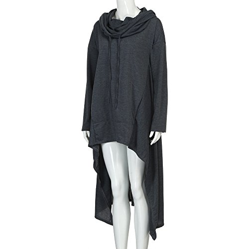 Casual Loose Mode LILICAT Capuche Coton Cardigan Long Blouson Gray Hoodie Grande Tops Shirt Hood Vtements Taille Irregular 5XL Blouse Femmes Pull Dark Sweatshirt Manteau Poche Sweat S Chaude w8qWIPx8Z