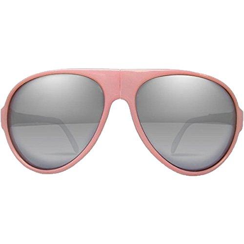 I Ski Unisex Bighorn Sunglasses, Milky Pink/White/Smoke with Silver Mirror, - Sunglasses Ski I