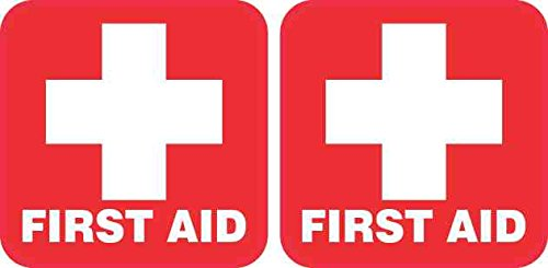 (2in x 2in First Aid Stickers )