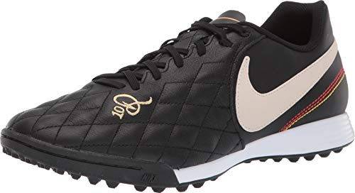 Nike Tiempo Legend 7 Academy 10R TF Soccer Shoes (Black/Orewood Brown) (Men's 7.5/Women's 9)