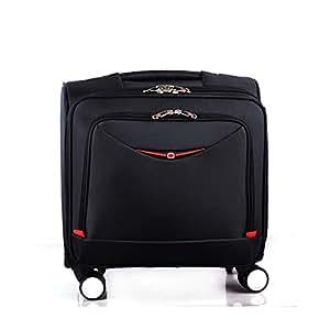 Maleta de viaje con compartimento para computadora portátil, maleta de viaje con equipaje de mano