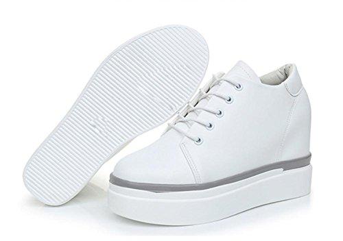 Mme Spring chaussures d'ascenseur Muffin chaussures à fond épais chaussures de sport pour aider à bas chaussures dames chaussures , US6 / EU36 / UK4 / CN36