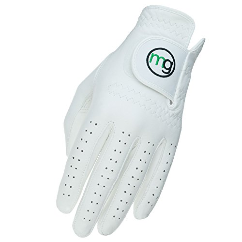 MG Golf DynaGrip All-Cabretta Leather Golf Glove (Men's Regular Sizes) - Large