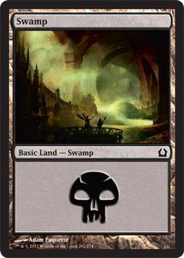 Magic: the Gathering - Swamp (262) - Return to Ravnica