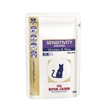 Royal Canin, Alimentos húmedos para el control de la sensibilidad de los gatos: pollo y arroz, Pack de 4 (4 x 1.2 kg): Amazon.es: Productos para mascotas