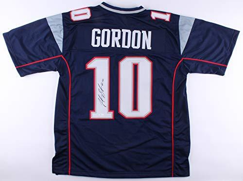 Josh Gordon Signed New England Patriots Jersey (JSA)