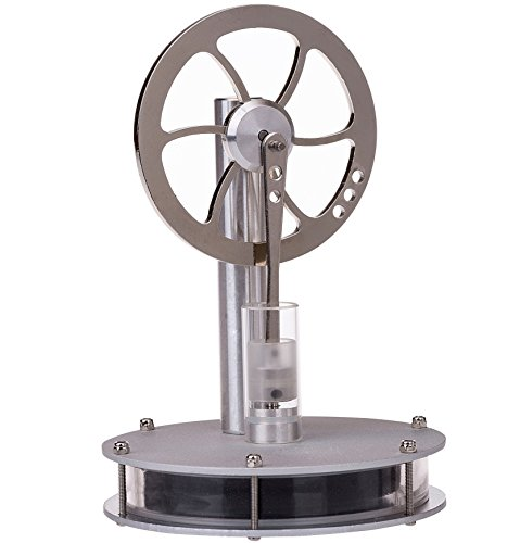 (Sunnytech Low Temperature Stirling Engine Motor Steam Heat Education Model Toy Dwcl-01)