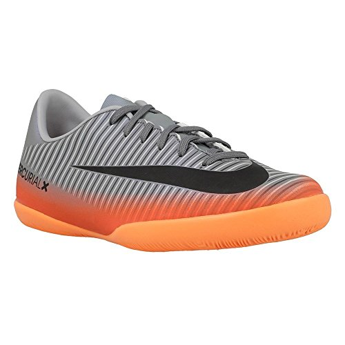 Nike MercurialX Jr. Victory VI CR7 Little/Big Kids' Indoor/Court Soccer Shoe (4 Big Kid M) - Indoor Soccer Girls Nike