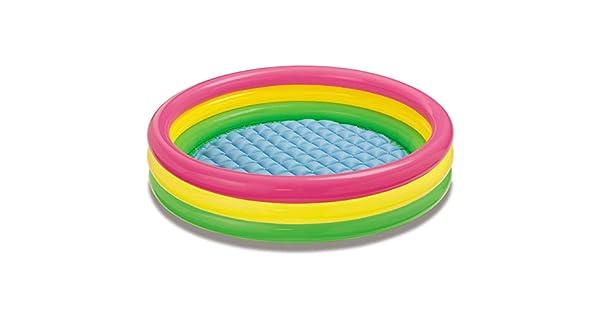 "Amazon.com: Intex Sunset Glow Inflatable Pool, 58 x 13"" ..."