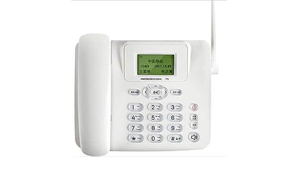 HQCC Teléfono inalámbrico Multifunción Enchufe Tarjeta SIM ...