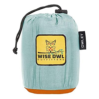 Wise Owl Outfitters Kids Hammock for Camping The Owlet Kid Child Toddler or Gear Sling Hammocks - Perfect Small Size for Indoor Outdoor or Backyard - Portable Parachute Nylon - 3 Colors!