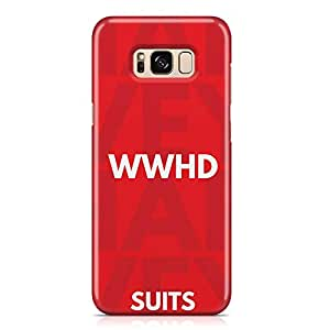 Samsung S8 Case Suits Case WHAT WOULD HARVEY DO Unique design Favourite Tv shows Samsung Samsung S8 Cover Wrap Around