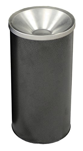 Witt Industries 2000SVN Steel Urn Ash Receptacle, Round, 10