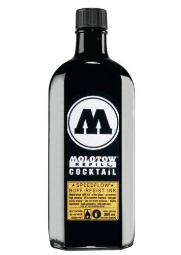 MOLOTOW Refill Cocktail Speed Flow Black 250ml (691.767)