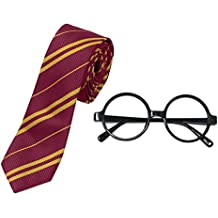For Harry Potter Novelty Glasses and Tie Costume Accessories for Halloween