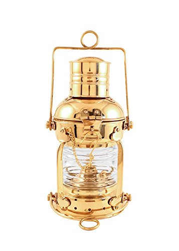 Vermont Lanterns Brass Anchor Lamp - Ship Lantern (10