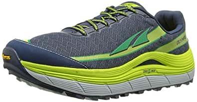 Altra Men's Olympus 2 Trail Running Shoe, Blue Iris/Lime, 7 M US