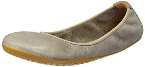 Vivobarefoot Womens Jing Jing Leather Shoes Coblestone