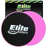 Elite sportz equipment Dual Sided Gliding Discs, 2 Core Sliders