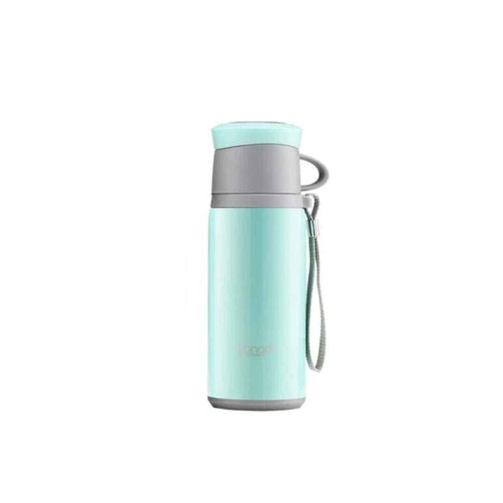 F & H FH Männer und Frauen Portable Becher mit Seil Große Kapazität Geschäft Edelstahl Cup Outdoor Car Teetasse
