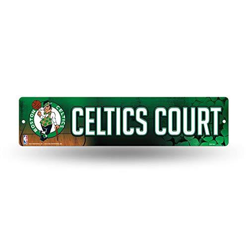 NBA 보스턴 셀틱스 16 인치 플라스틱 거리 표지판 장식