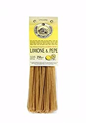 "Del Barba Export, Linguine Lemon & Pepper ""Antico Pastificio Morelli 1860"" 250gr. 8.8 Oz."