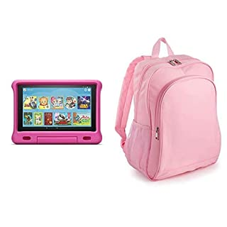 Fire HD 10 Kids Tablet 32GB Pink with Amazon Exclusive Kids Tablet Backpack, Pink