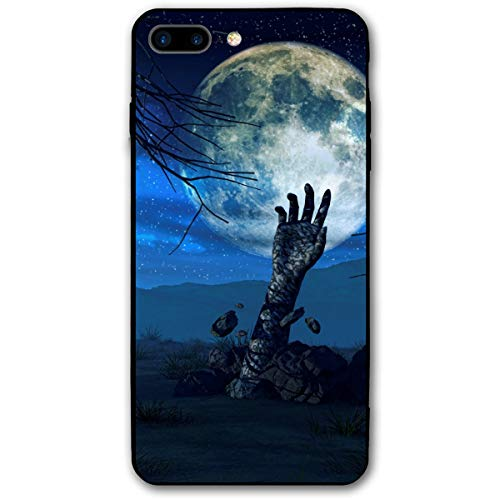 Halloween Background Zombie Hand iPhone 8 Plus Case, iPhone 7 Plus Case, Ultra Thin Lightweight Cover Shell, Anti Scratch Durable, Shock Absorb Bumper Environmental Protection Case -